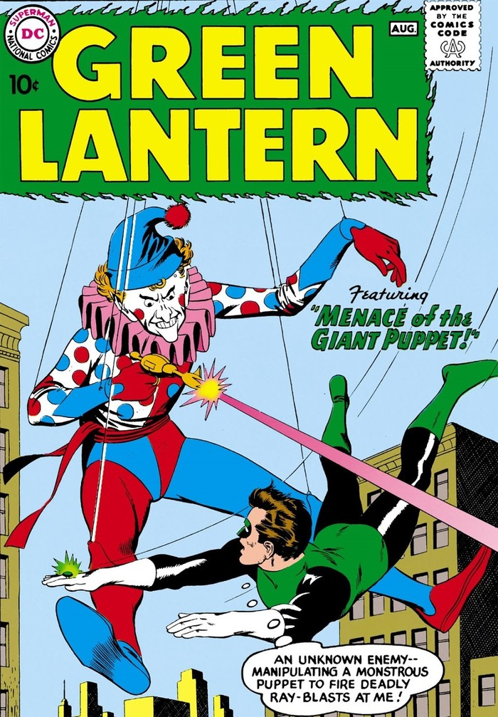 Погружаемся в комиксы: Green Lantern vol.2 #1-10 Супергерои, DC Comics, Зеленый фонарь, Комиксы-Канон, Длиннопост