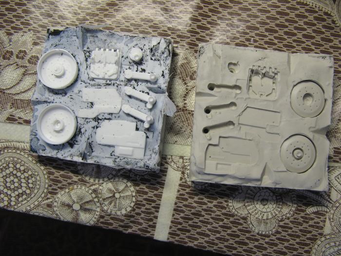Копирование деталей и литье пластика smooth-ON, smooth-cast 300 Стендовый моделизм, Пластик, Литье, Длиннопост