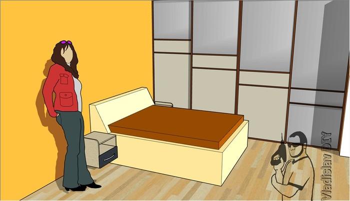 """Встроенный шкаф купе своими руками, часть 2 (двери """"купе"""") Шкаф-Купе, Двери купе, Своими руками, Ремонт, Мебель, Длиннопост"""