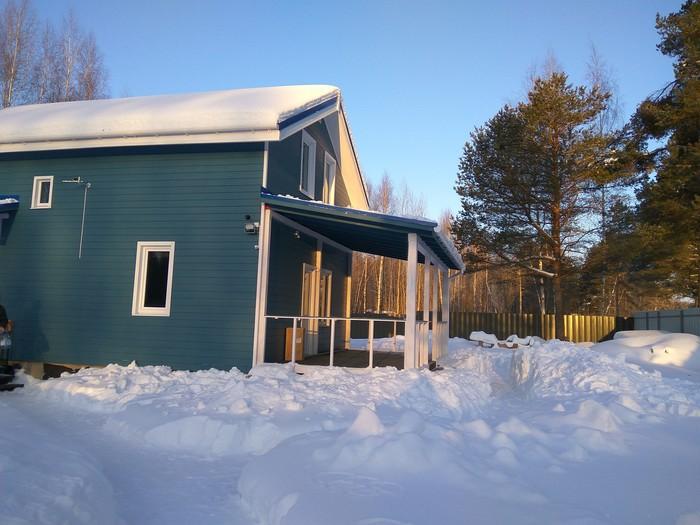 Как я построил дом за год (часть 7, итоги). Каркасный дом, Свой дом, Загородный дом, Земельный участок, Длиннопост