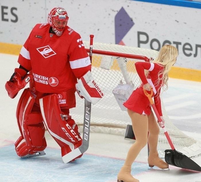 Группа поддержки Спартак, Хоккей, Группа поддержки, Длиннопост, Попа