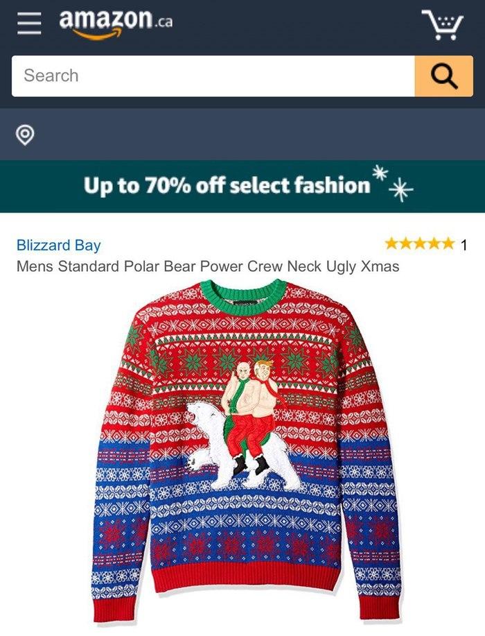 Лучший свитер на Рождество и не только Новый Год, Необычные подарки, Календарь, Amazon, Минобороны, Длиннопост