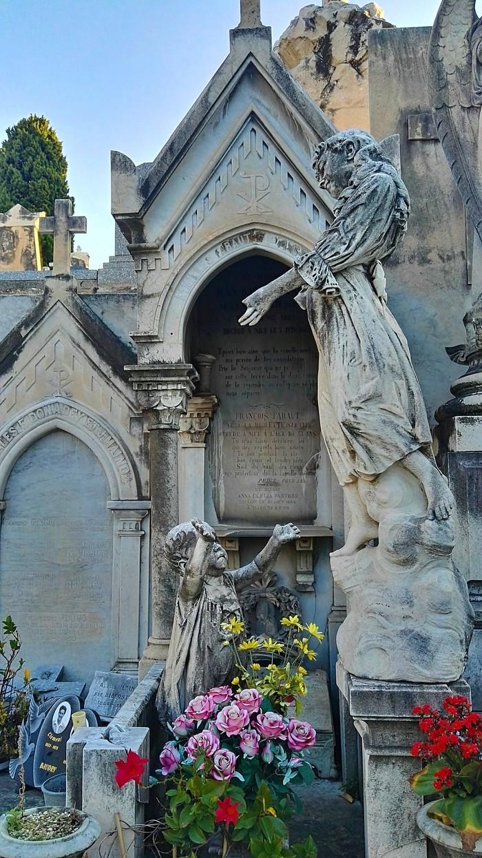 Кладбище Шато в Ницце Ницца, Франция, Лазурный Берег, Кладбище, Длиннопост, Фотография
