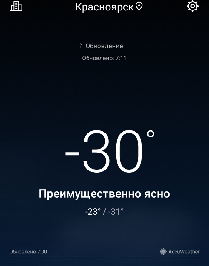 Обещанного долго ждать? Красноярск, Мороз, Погода, Синоптики, Нытье
