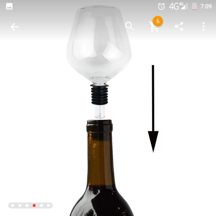 Когда говорят что пить из горла не красиво... Бокалы, Вино, Aliexpress, Китайцы, Длиннопост