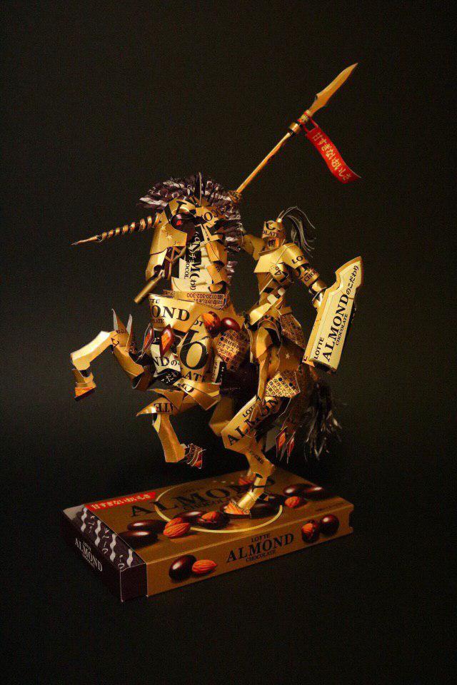 Японский художник Харуки. Японцы, Рукоделие, Киригами, Twitter, Длиннопост