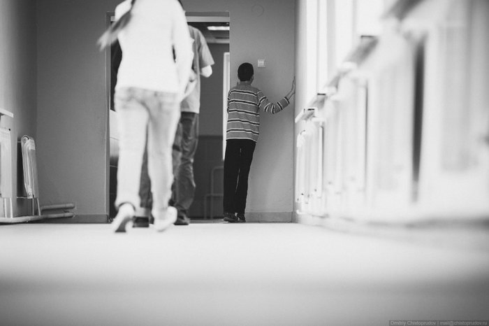 Жизнь в глухой темноте. Инвалид, Слепоглухие, Дом слепоглухих, Сергиев Посад, Длиннопост