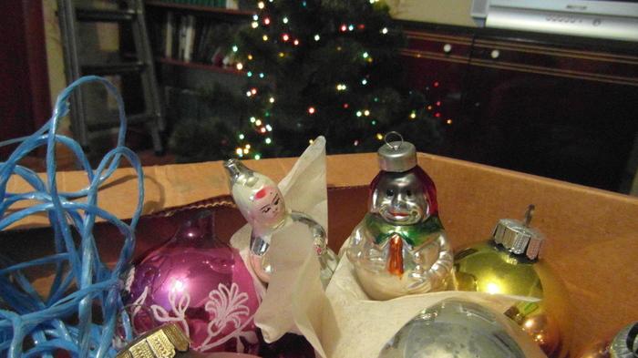 Старые игрушки но с огоньком Новый Год, Елочные игрушки, Длиннопост
