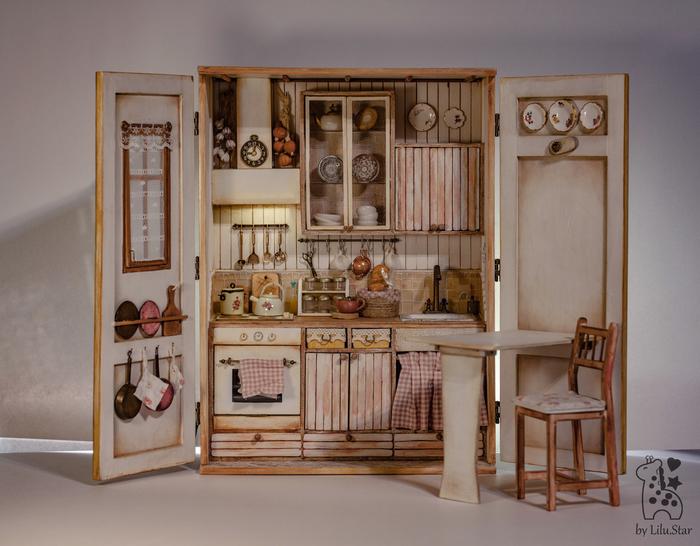 Домик для кукол Кукольный дом, Румбокс, Блайз, Длиннопост, Рукоделие, Кукла