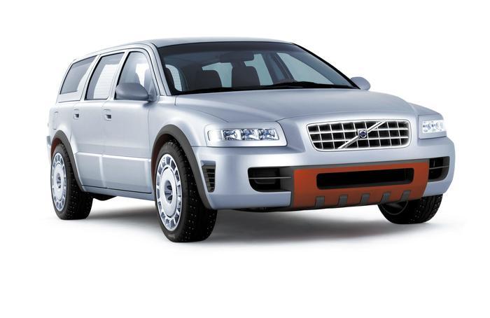 Volvo Adventure Concept Car 2002 года Авто, Концепт, Volvo, Длиннопост