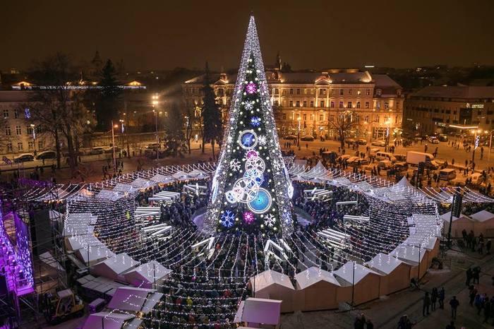 Всех с наступающим из Вильнюса :)