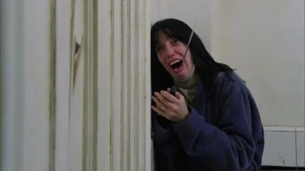 Когда пошла мыться и закрыла дверь в ванную комнату.