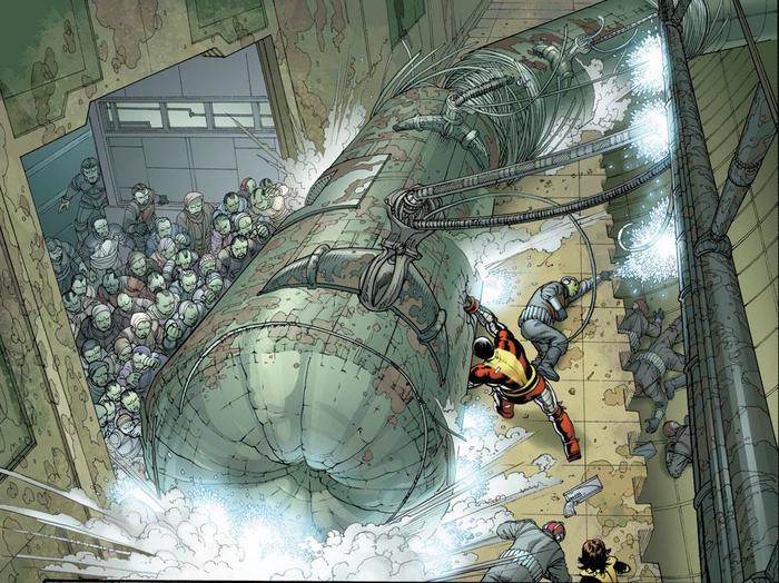 Супергеройские способности: Колосс Супергерои, Marvel, Люди Икс, Колосс, Комиксы-Канон, Длиннопост