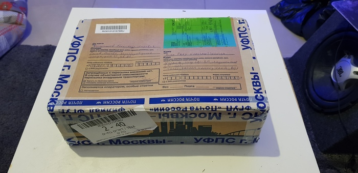 Мой Анонимный подрарок прибыл в Израиль, почта России дарит пазл.Прибыл подарок как раз вовремя) До нового года 8 часов =) АД, Дед Мороз, Новый Год, Обмен подарками, Кот, Пополнение, Длиннопост