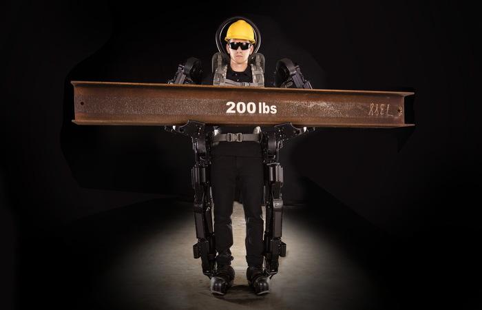 «Костюм» для строителя или коммерческий экзоскелет Строительство, Новые технологии, Экзоскелет, Длиннопост