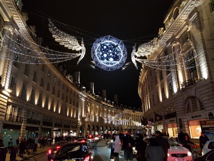 Новогодний Лондон вам в ленту Новый Год, Лондон, Толпа, Мост, Великобритания, Длиннопост
