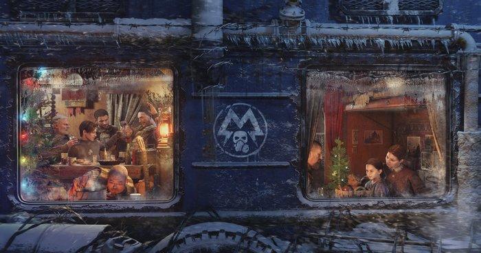 Новогодняя Аврора Метро 2033, Metro Exodus, Новый Год, Metro: Last Light