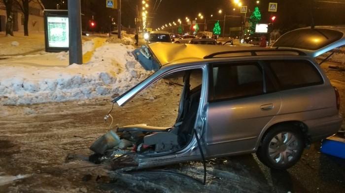 Была одна машина - стало две (авария) Авария, ДТП, Харьков, Авто, Длиннопост