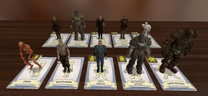 Fallout New California Fallout, Fallout: New California, Настольные игры, Tabletop Simulator, Дополнение, Длиннопост