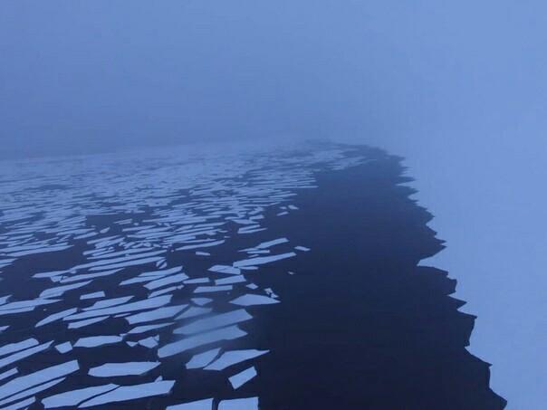 Белое море в январе 2019 Северодвинск, Ягры, Зима, Белое море, Квадрокоптер, Фотография