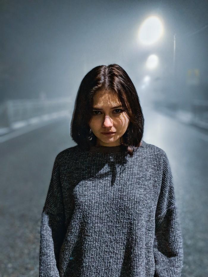Night time Фотография, Фотограф, Ночь, Авто, Дорога, Красивая девушка, Google pixel, Туман, Длиннопост