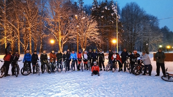 Открываем сезон 1 января! Велосипед, Смоленск, Всесезонность