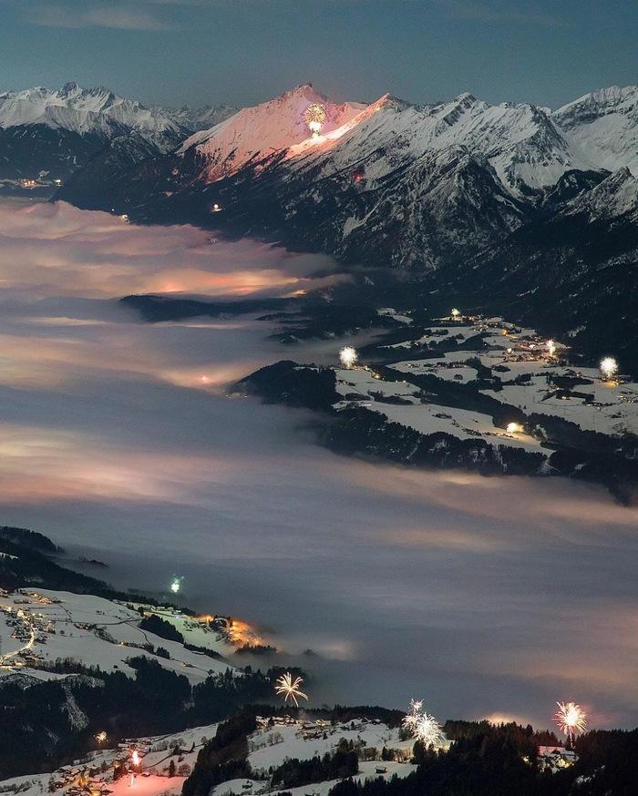 Новогодние салюты, Австрия