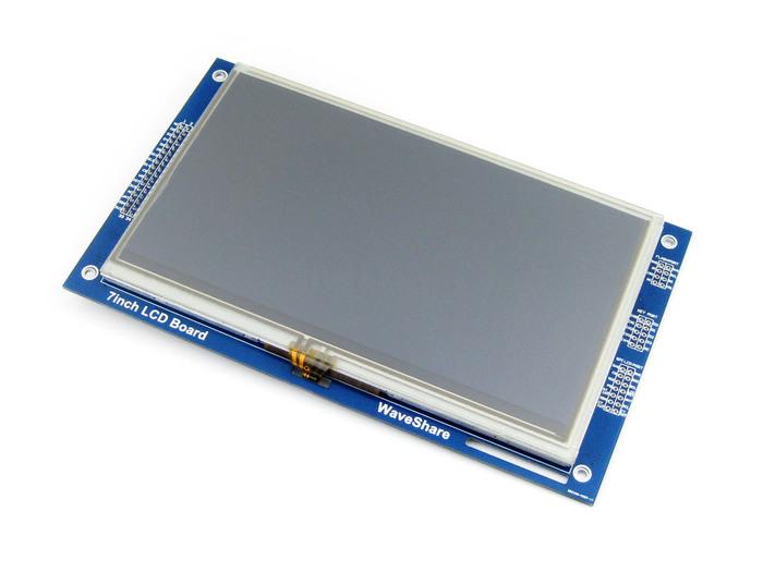 Подключение 7-дюймового экрана с тачскрином (Waveshare) к Arduino Arduino, Esp32, Tft, Touchscreen, Gt811, Ra8875, Длиннопост
