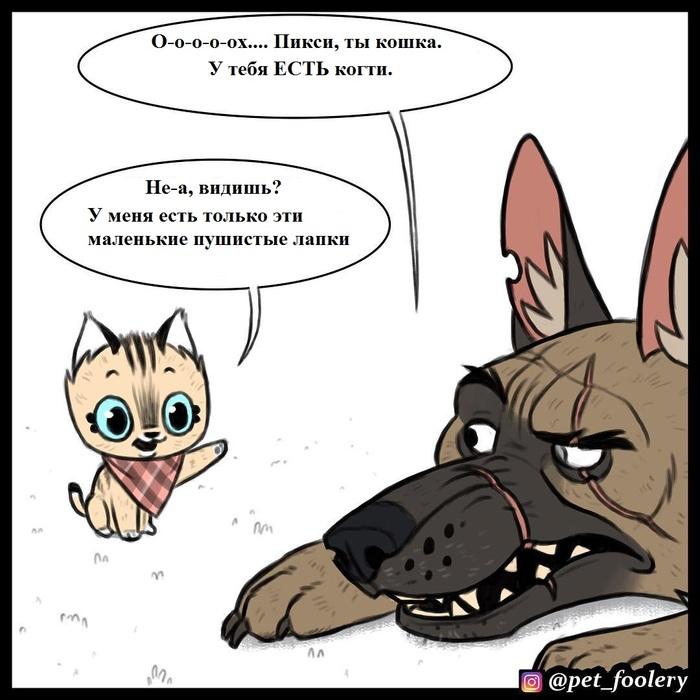 О когтях Брут и пикси, Pet_foolery, Комиксы, Длиннопост