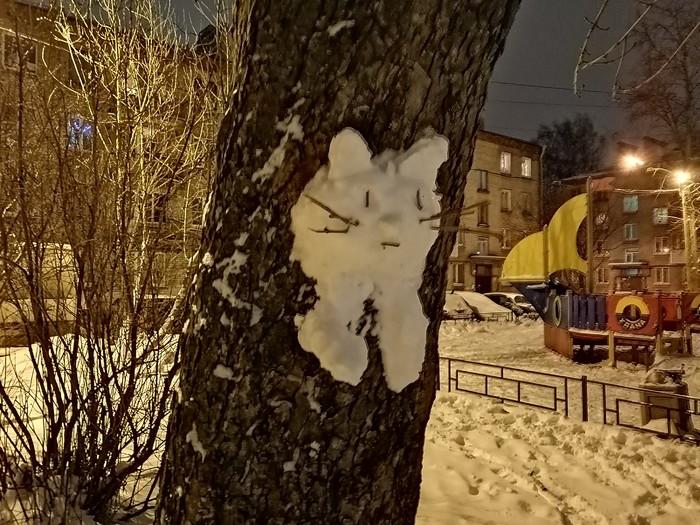 Чем же заняться в новогодние праздники? Снеговик, Снег, Ночь, Морлоки, Длиннопост