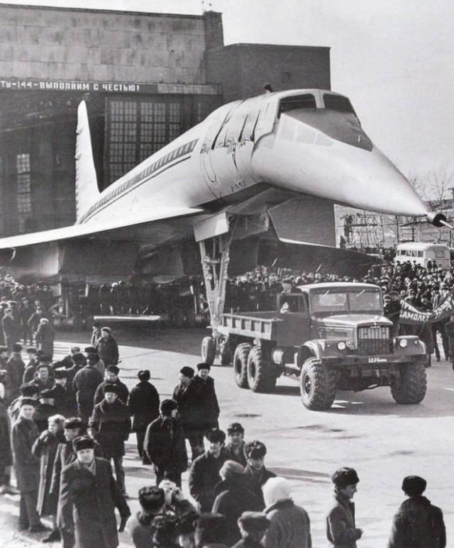 СССР выиграл гонку за сверхзвук