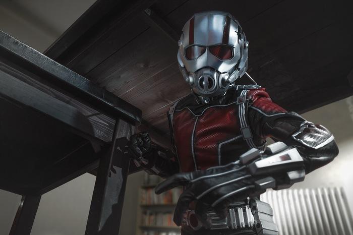 Ant-man by Hitman Косплей, Человек-Муравей, Marvel, Hitman, Длиннопост