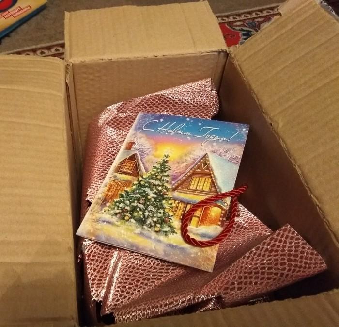 Обмен от Миррочка: Кемерово-> Москва Новогодний обмен подарками, Отчет по обмену подарками, Тайный Санта, Длиннопост, Обмен подарками