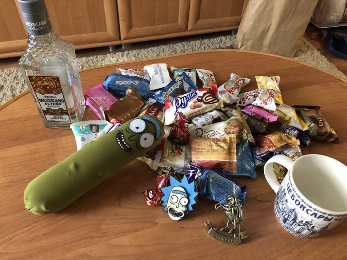 Новогоднее волшебство (АДМ) Тайный Санта, Обмен подарками, Новый Год, Добро, Ахтубинск, Чебоксары, Отчет по обмену подарками, Длиннопост