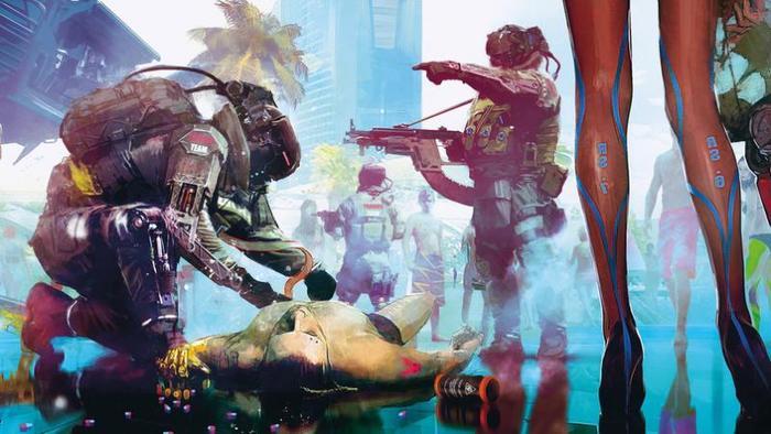Cyberpunk 2077: Корпорация Trauma Team International Cyberpunk 2077, CD Projekt, Киберпанк, Игры, Длиннопост