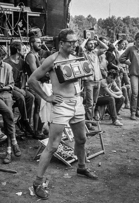 Запись концертов на кассету, 1980е года