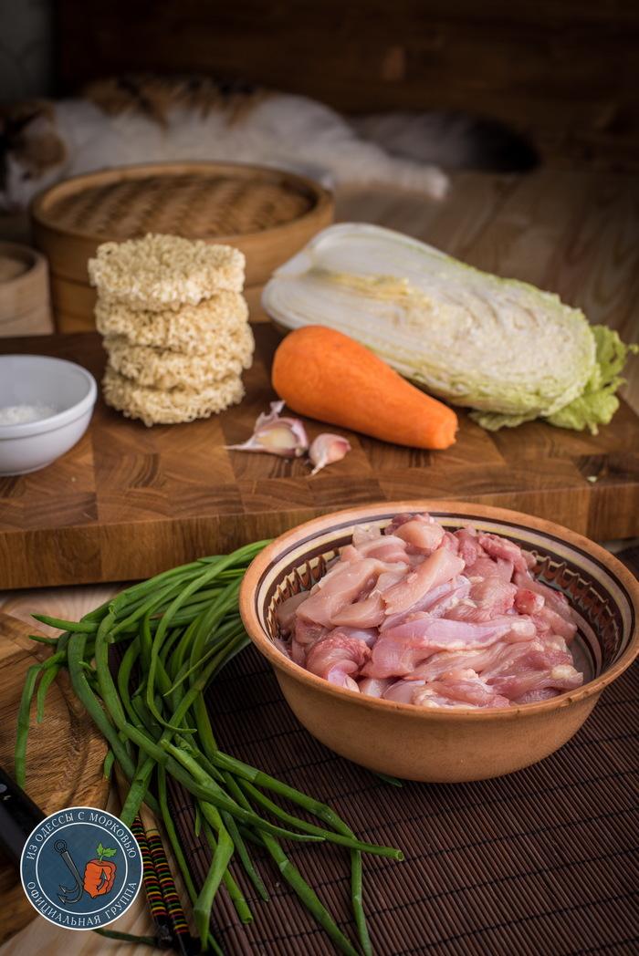 Лапша Ло-Мейн с курицей. Из Одессы с морковью, Кулинария, Еда, Рецепт, Фотография, Длиннопост, Лапша