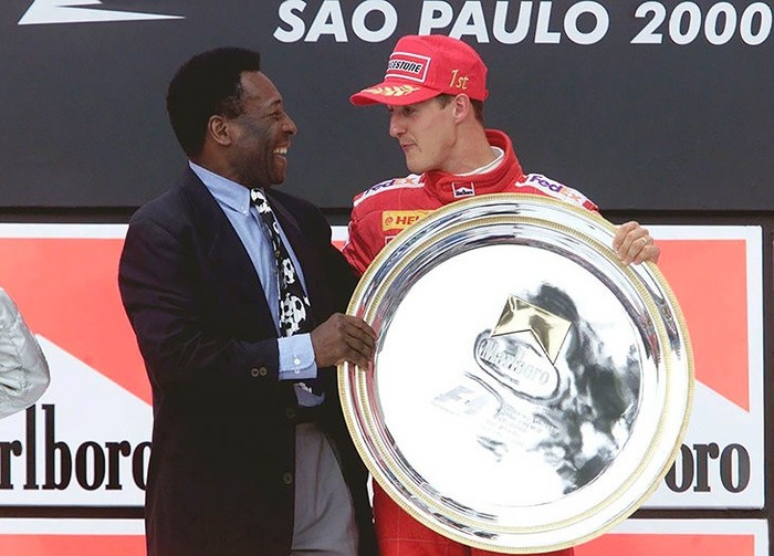 Как Пеле не успел за Шумахером Формула 1, Шумахер, Михаэль Шумахер, Пеле, Футбол