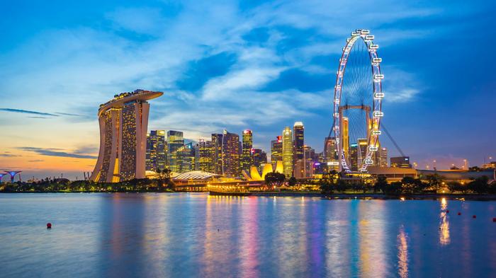 - Да что в этом Сингапуре смотреть-то? Сингапур, Море, Капитан, Юмор, Длиннопост
