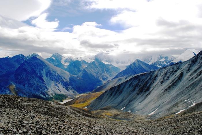 Алтай. Вид с перевала Каратюрек Туризм, Фотография, Природа, Алтай