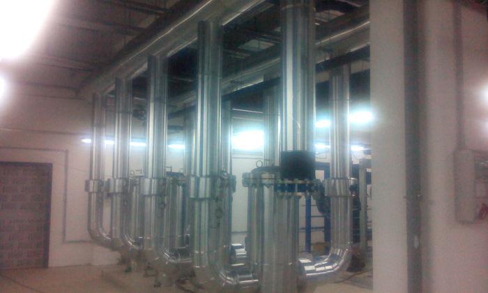 Теплоизоляция трубопроводов ч.9 Работа, Теплоизоляция, Зеленоград, Ангстрем-т, Металл, Длиннопост