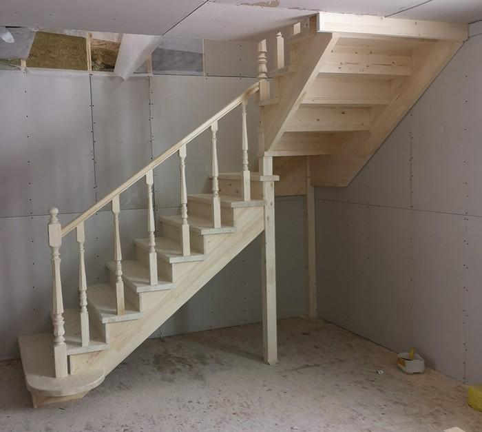 Простая лесенка 2.0 Легкость и простота, Каркасники, Каркасный дом, Деревянная лестница, Дизайн, Интересное, Дизайн интерьера, Длиннопост