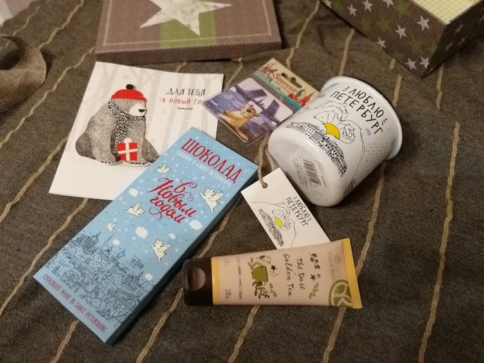 Подарки организатору обмена из Питера и Китая в Красноярск Обмен подарками, Отчет по обмену подарками, Новогодний обмен от Миррочки, Длиннопост, Тайный Санта