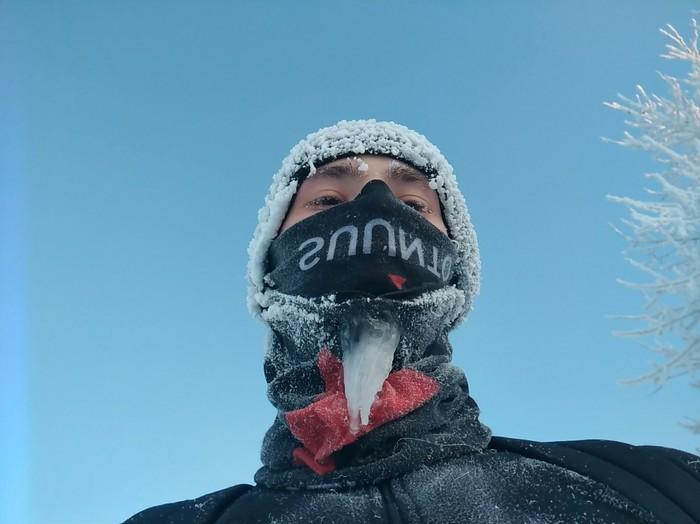 Побегал в -24 Спорт, Бег, Иркутск, Зима
