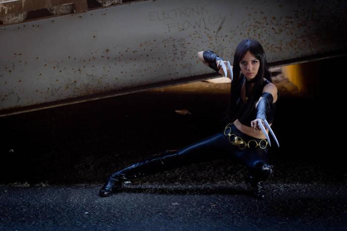 X23 by Karen Kasumi Косплей, Люди Икс, Росомаха, x-23, Комиксы, Marvel, Karen Kasumi, Длиннопост