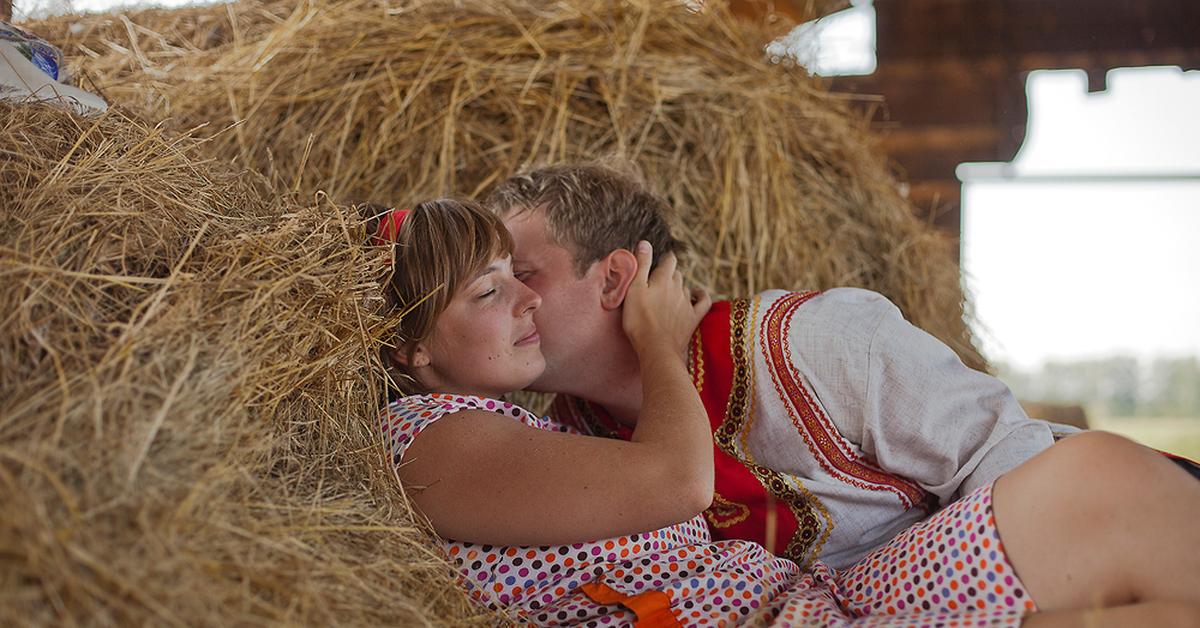 Картинки про любовь и деревню