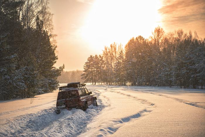 Новогодние выходные у всех разные Фотография, Снег, Покатушки, Offroad, Праздники, Томск, 4х4, Джип