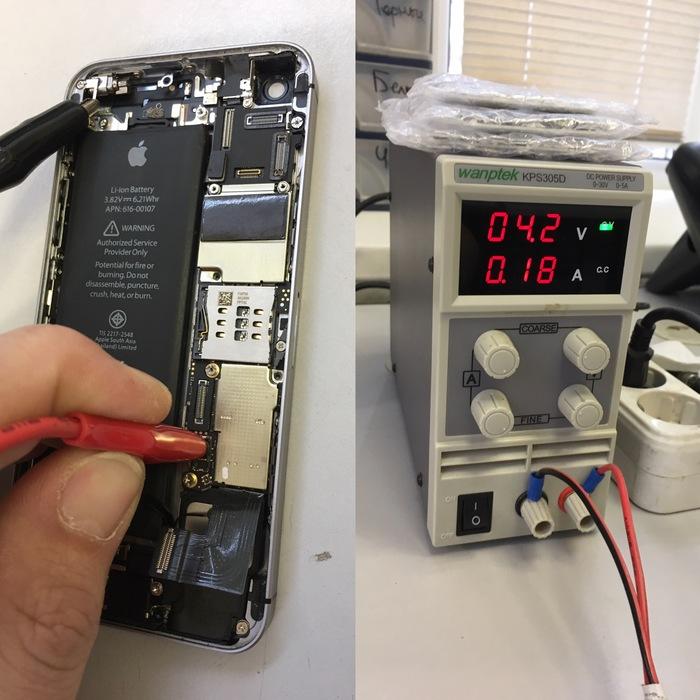 История одного телефона Ремонт техники, Iphone, Пайка, Микросхема, Длиннопост, Ремонт iPhone, Iphone se