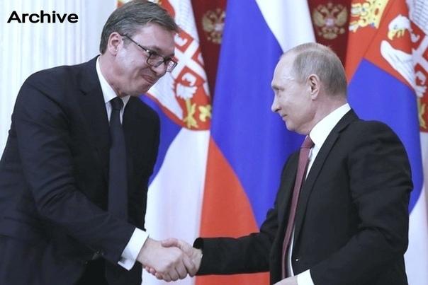 Президент Сербии награждён орденом Александра Невского. Политика, Россия, Сербия, Награждение, Орден