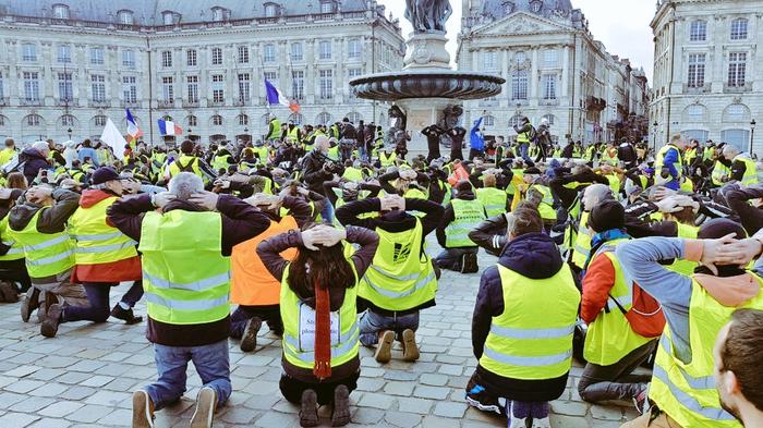 5,6 тысяч задержаных. Более 1000 человек осуждено Новости, Франция, Желтые жилеты, Протест, Полиция, Внутренняя политика